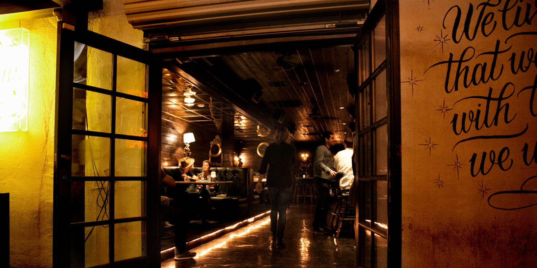 Hollywood Restaurant Doors